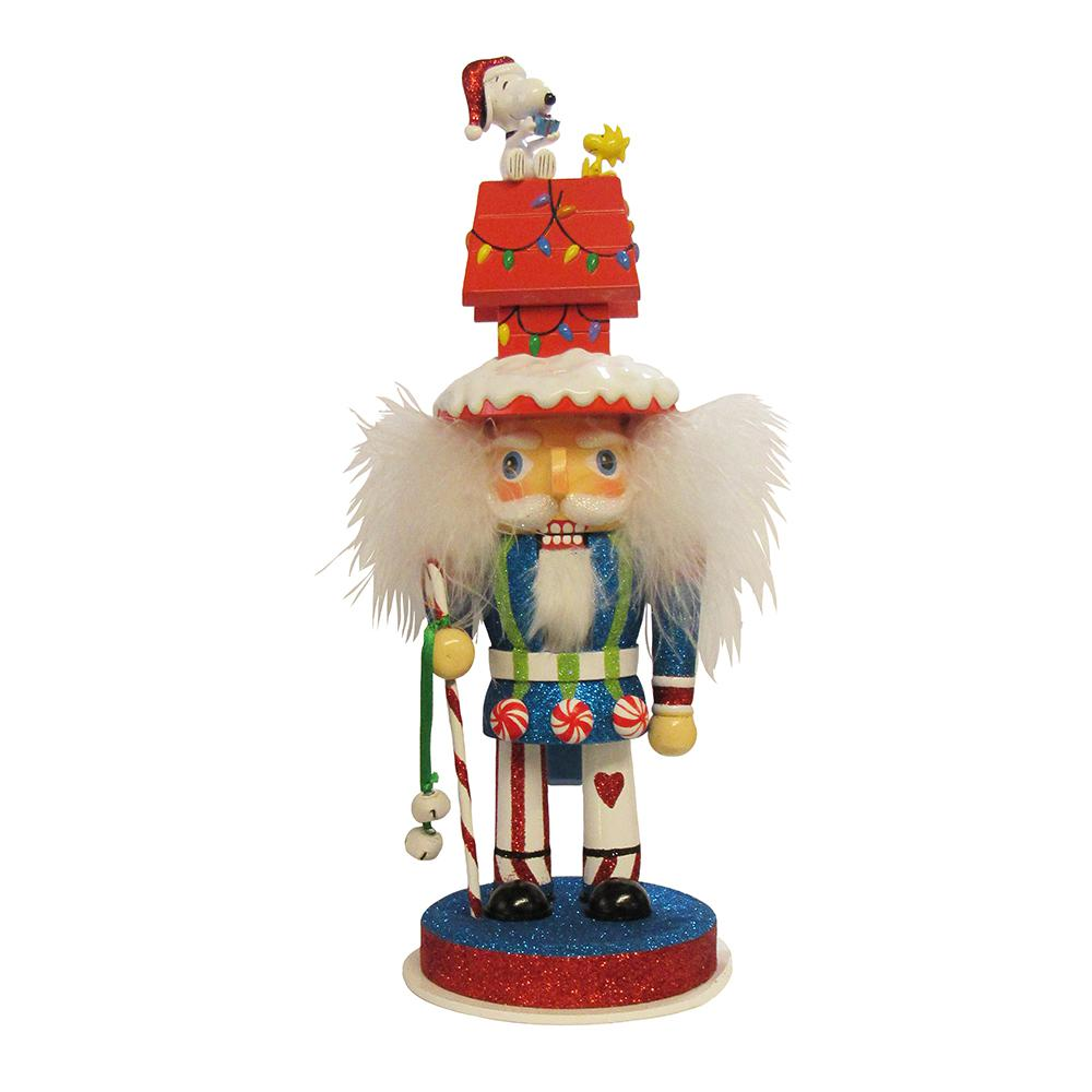 Home accents holiday 65 in led lighted tinsel nutcracker for 4 foot nutcracker decoration
