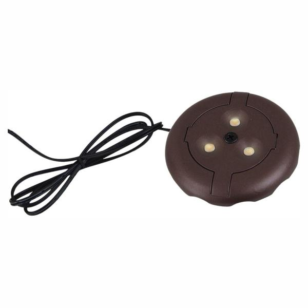 Sea Gull Lighting Ambiance 12-Volt Plated Bronze LED Disk Light (3000K)
