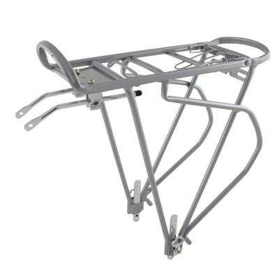 Traveler Silver Alloy Bicycle Pannier Rack