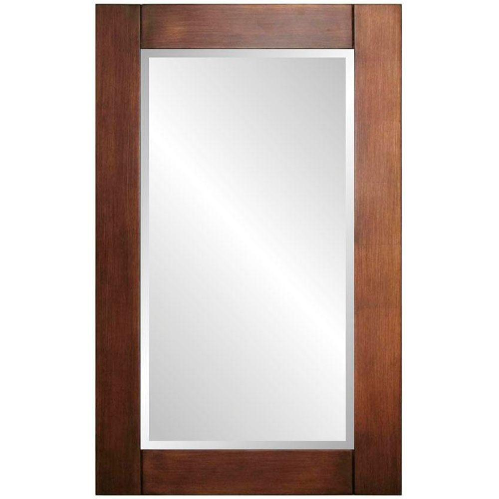 Home Decorators Collection Cooper 42 in. H x 26 in. W Framed Wall Mirror in Copper Leaf
