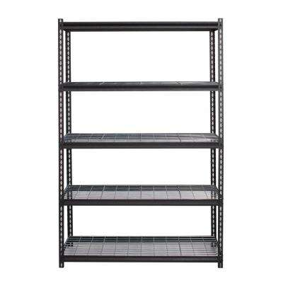2300 Series 18 in. D x 48 in. W x 72 in. H Wire Deck Adjustable 5-Tier Garage Shelving Unit