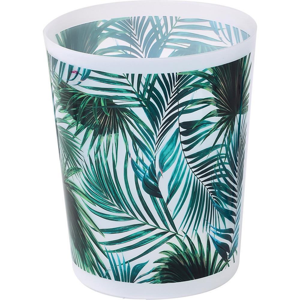 Tropical 4.5 l/1.2 Gal. Printed Trash Can