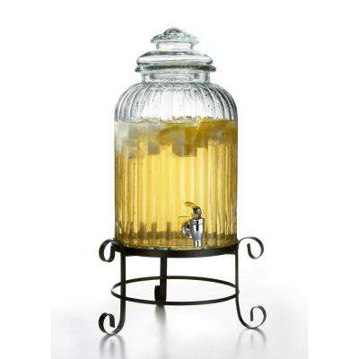 Regency Glass Beverage Dispenser