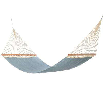 large sling hammock in conley denim hammocks   patio furniture   the home depot  rh   homedepot