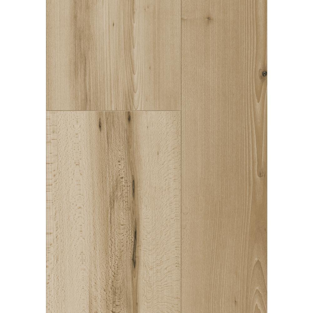 Take Home Sample - Oceanside Beechwood Laminate Flooring - 5 in. x 7 in.