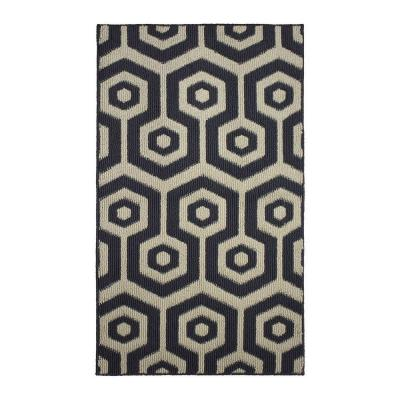 Honeycomb Multi 2 ft. x 4 ft. Area Rug