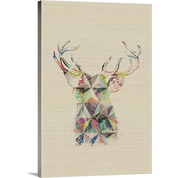 Greatcanvas Geometric Shape Animals