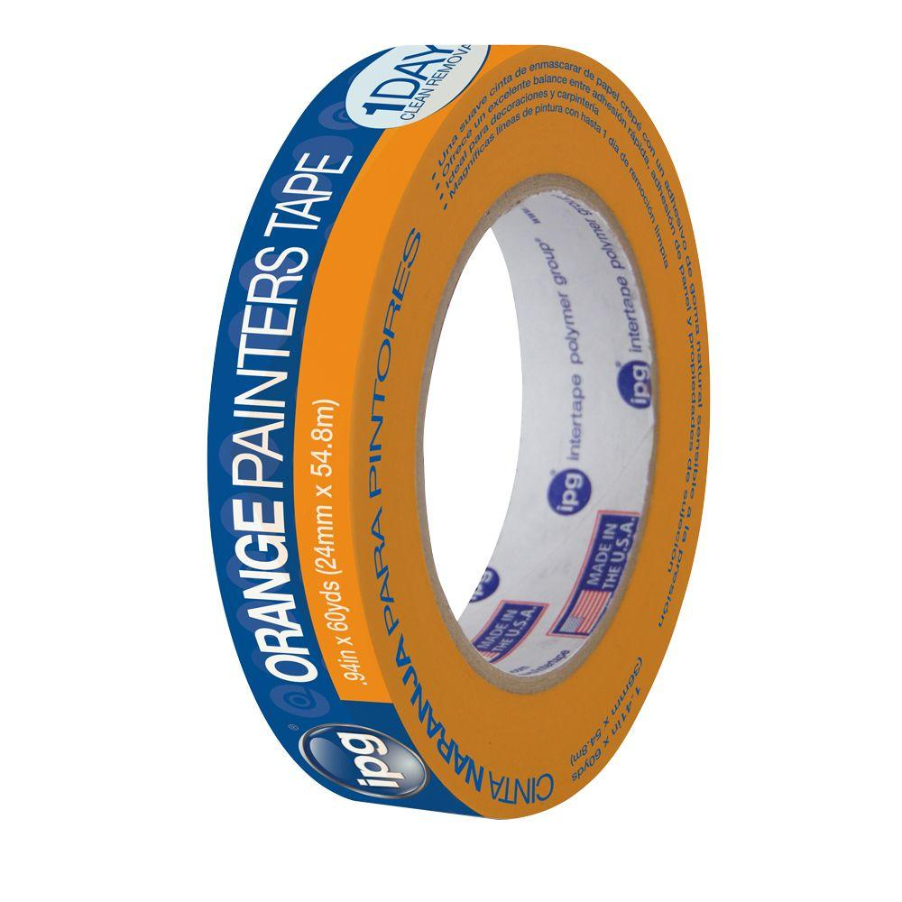 PG505 0.94 in. x 60 yds. Orange Painter's Masking Tape