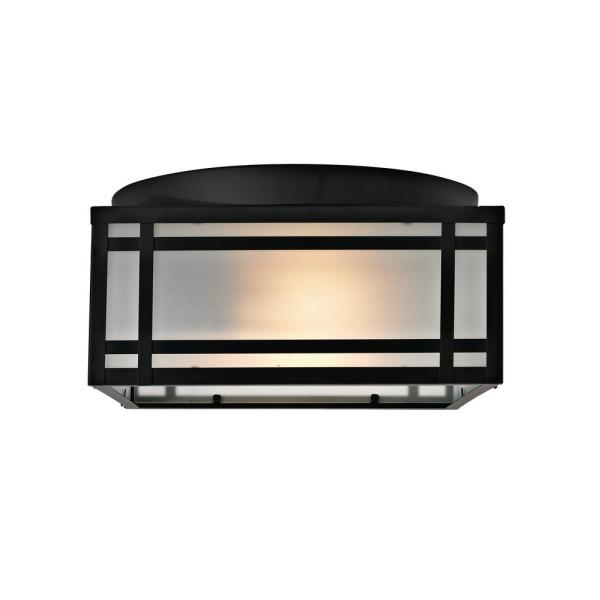 Light Mission Style Outdoor Flush Mount