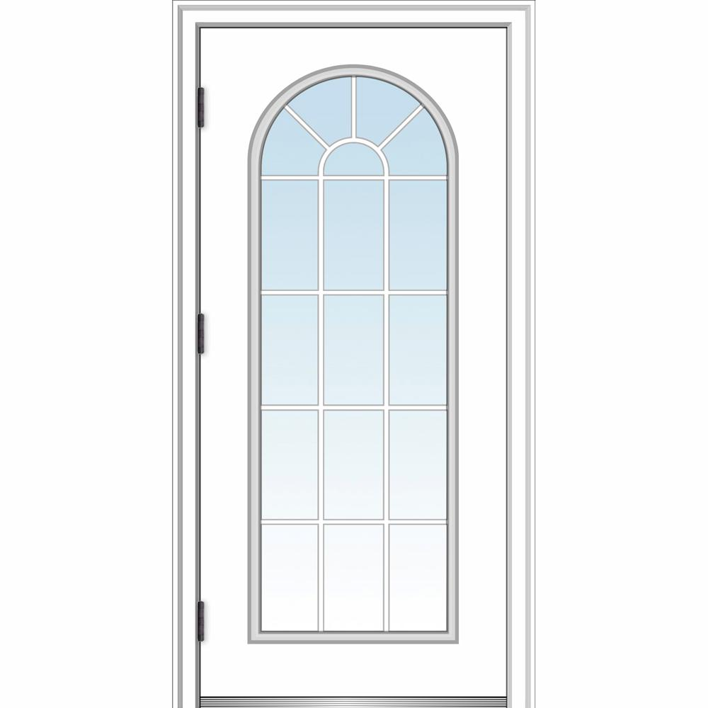 Ordinaire MMI Door 36 In. X 80 In. Classic Right Hand Outswing Full Lite