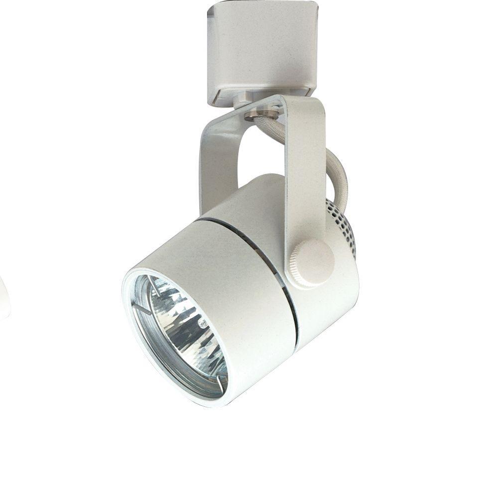 Plc Lighting 1 Light Track Fixture White Finish