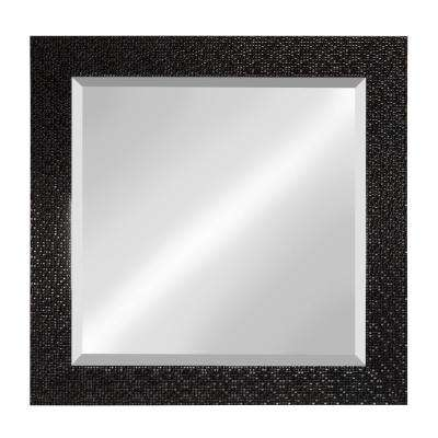 Coolidge Rectangle Black Accent Mirror