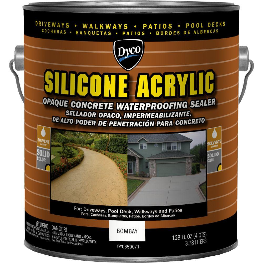 6500 Ay Exterior Concrete Waterproofing Stain And Sealer