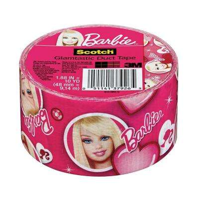 Scotch 1.88 in. x 10 yds. Barbie Glamtastic Duct Tape (Case of 6)