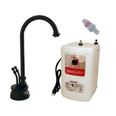 Docalorah 2-Handle Instant Hot and Cold Water Dispenser in Oil Rubbed Bronze