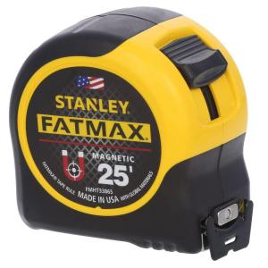Stanley 25 ft. FatMax Magnetic Tape Measure by Stanley