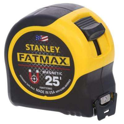 FATMAX 25 ft. x 1-1/4 in. Magnetic Tape Measure