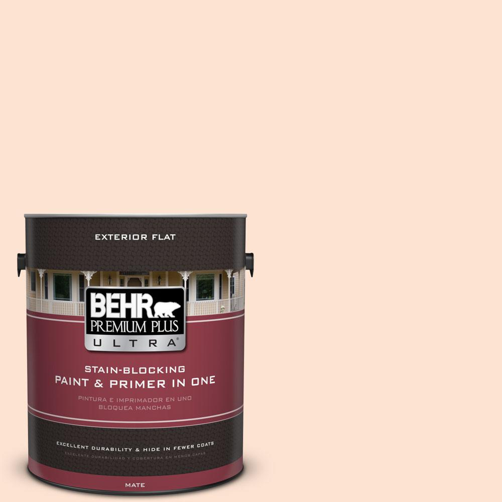 1-gal. #280C-1 Champagne Ice Flat Exterior Paint