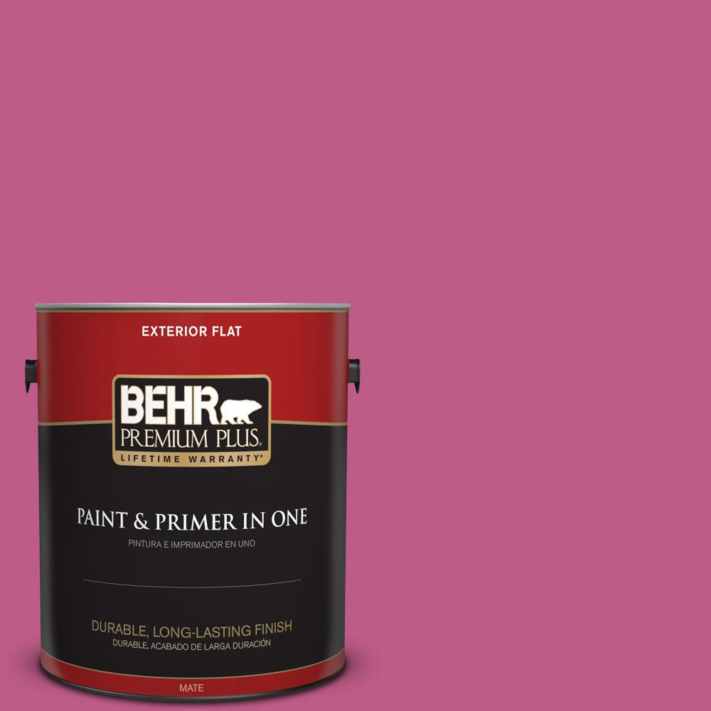 1-gal. #P120-5 Beauty Queen Flat Exterior Paint
