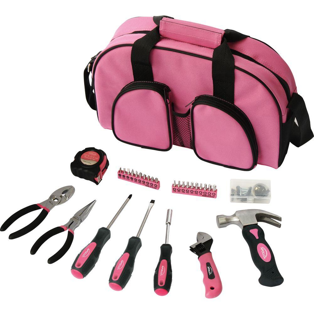 Apollo Women S Essential Tool Kit 69 Piece