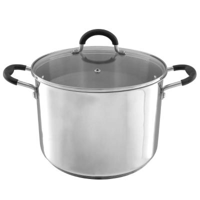 8 Qt. Stainless Steel Stock Pot with Lid