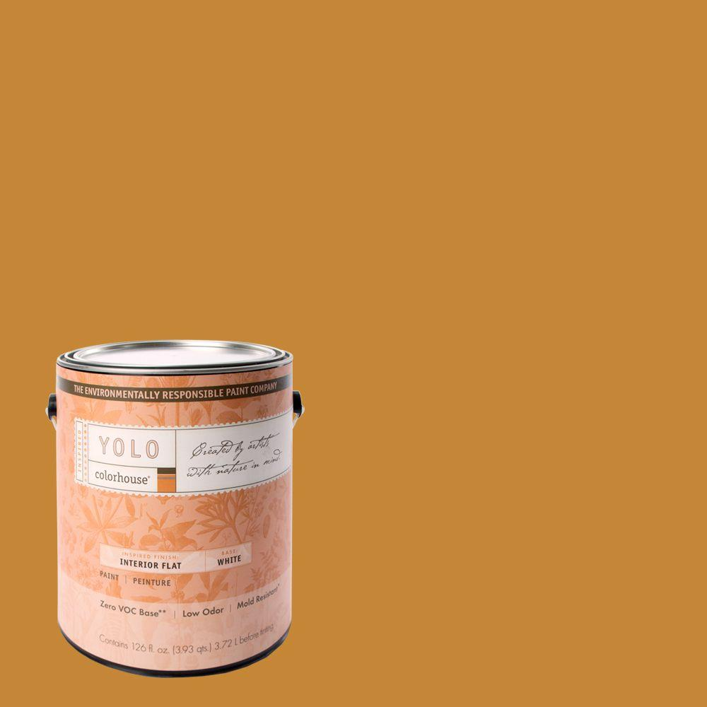 YOLO Colorhouse 1-gal. Wood .01 Flat Interior Paint-DISCONTINUED