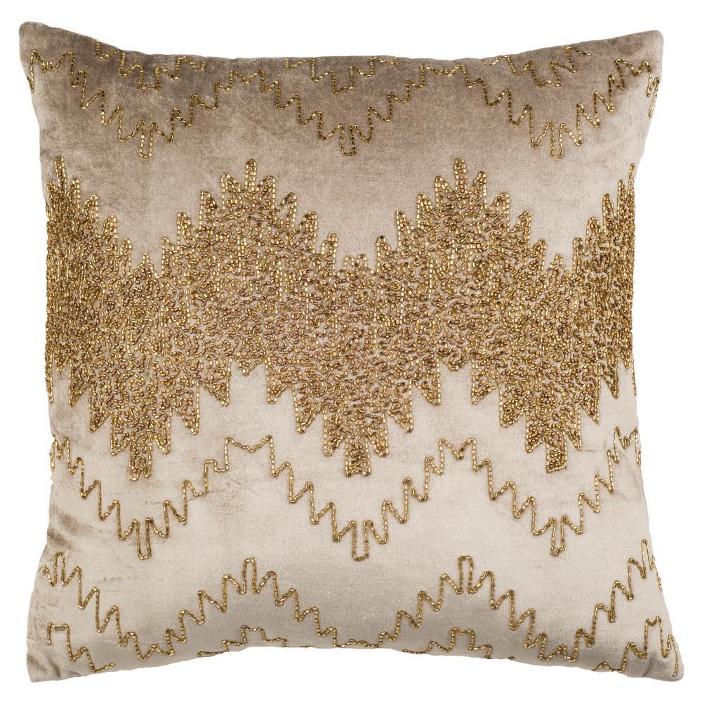 Gold Sparkle Pillow