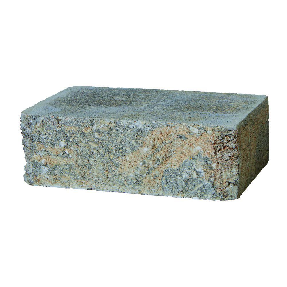 SplitRock Large 3.5 in. x 10.5 in. x 7 in. Yukon Concrete Garden Wall Block (96 Pcs. / 24.5 Face ft. / Pallet)