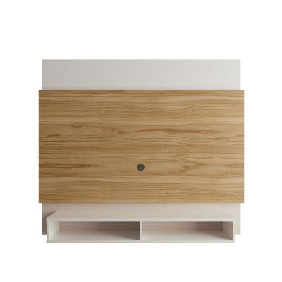 Brill Cinnamon and Off White 62.99 Floating Entertainment Center