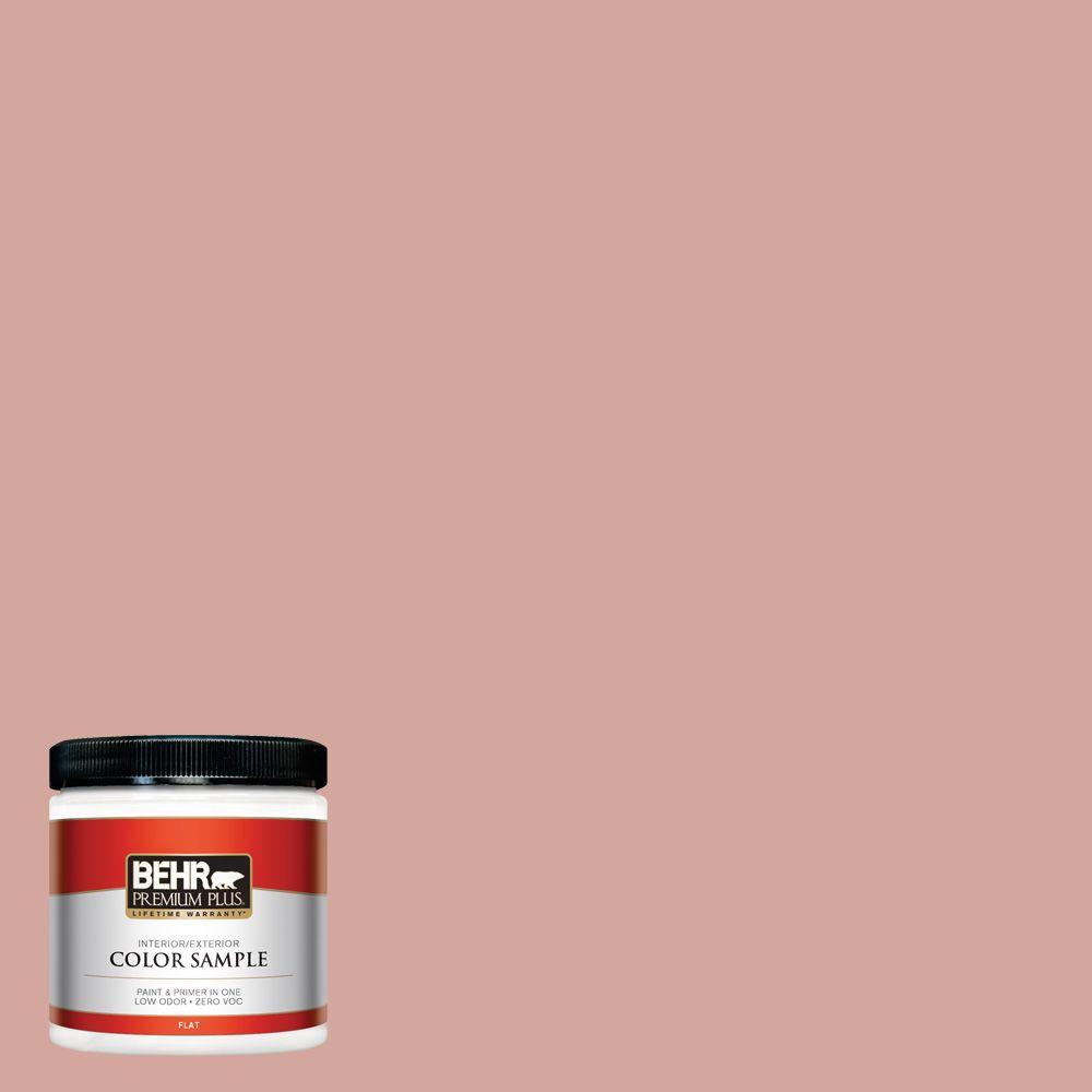 BEHR Premium Plus 8 oz. #200E-3 Cinnamon Cocoa Interior/Exterior Paint Sample