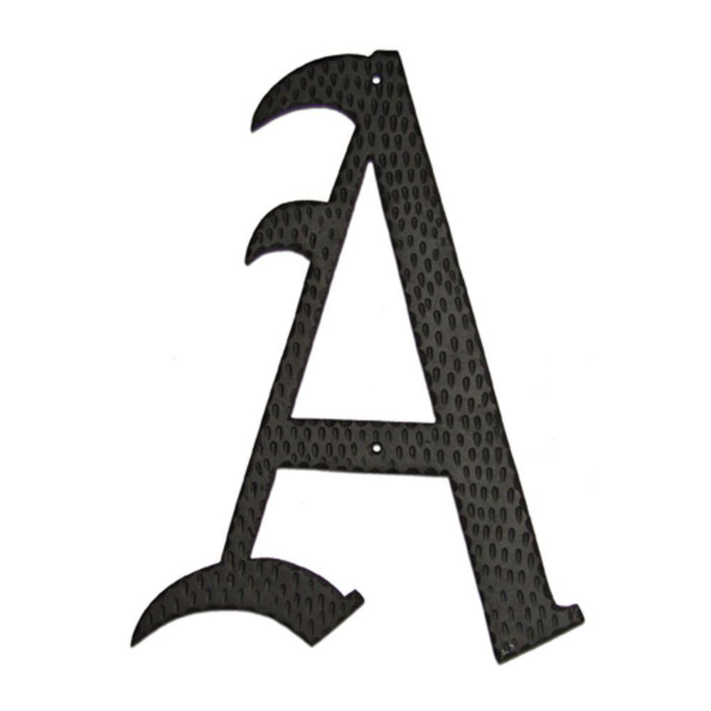 Montague Metal Products 24 in. Home Accent Monogram A