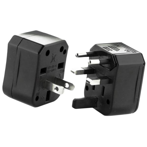 Worldwide 4-in-1 Plug Travel Adapters