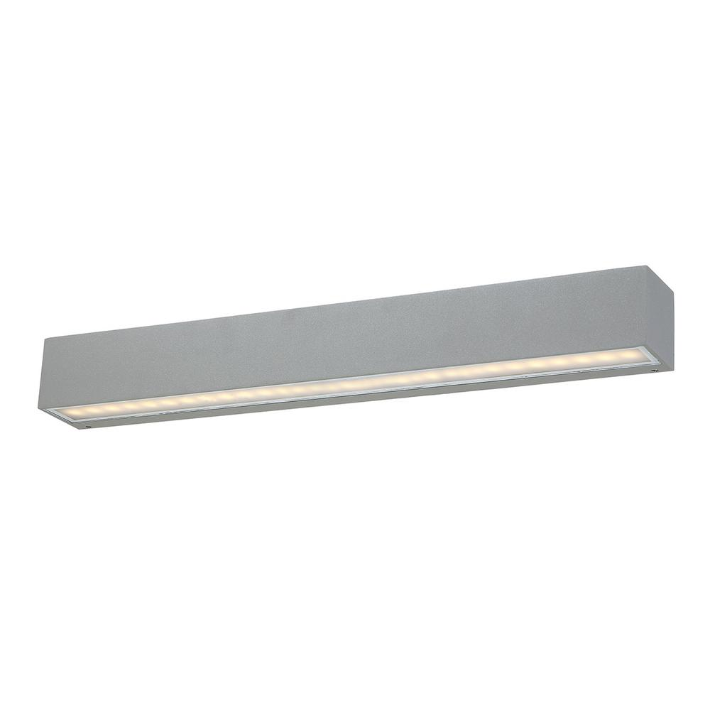 Eurofase 1-Light Marine Grey Outdoor Integrated LED Wall Mount Sconce  sc 1 st  Home Depot & Eurofase 1-Light Marine Grey Outdoor Integrated LED Wall Mount ...