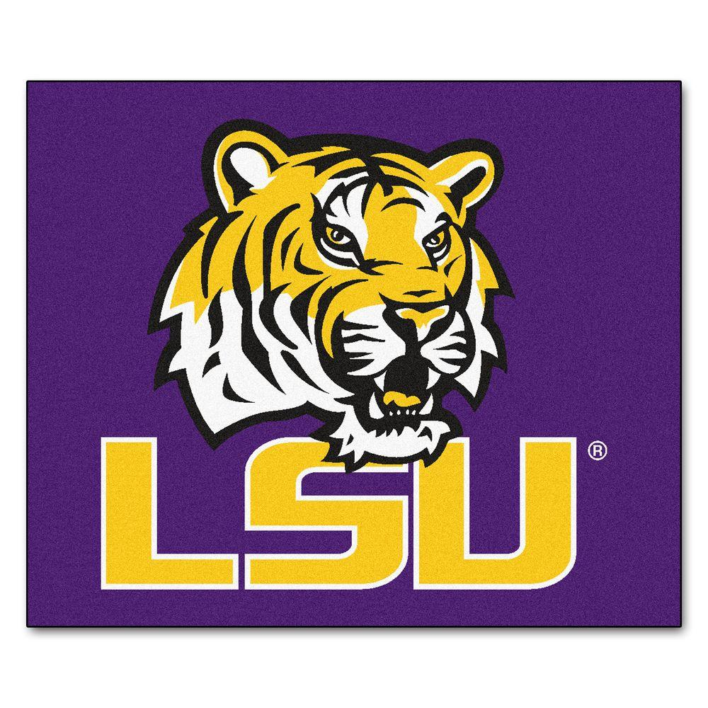 Louisiana State University 5 ft. x 6 ft. Tailgater Rug