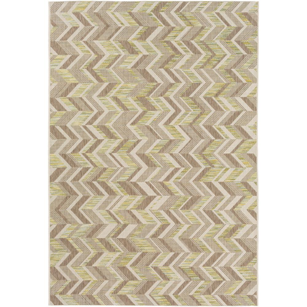 Evonne Tan 8 ft. x 11 ft. Indoor/Outdoor Area Rug