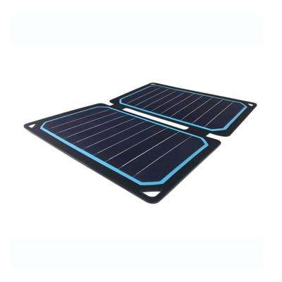 The E.FLEX 10-Watt Monocrystalline Portable Solar Panel with USB Port