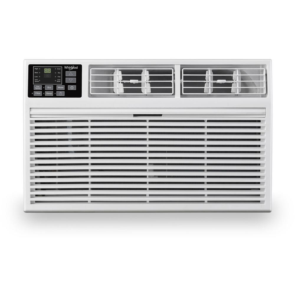 Whirlpool 8 000 Btu 115 Volt Through The Wall Air Conditioner With Remote Control What081 1aw The Home Depot