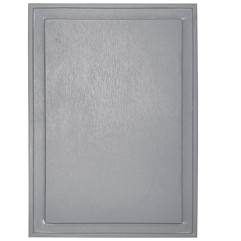 10 in. x 14 in. #016 Gray Super Jumbo Universal Mounting