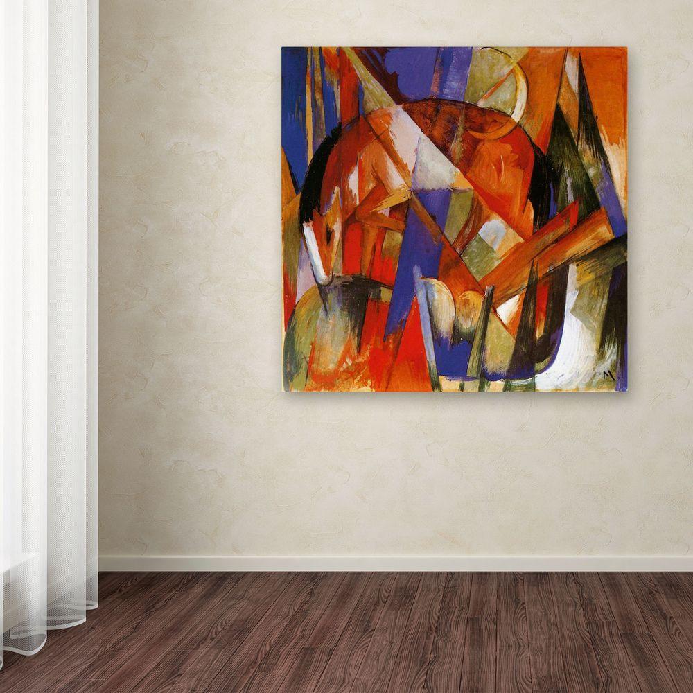 18 in. x 18 in. Fabulous Beast II Canvas Art