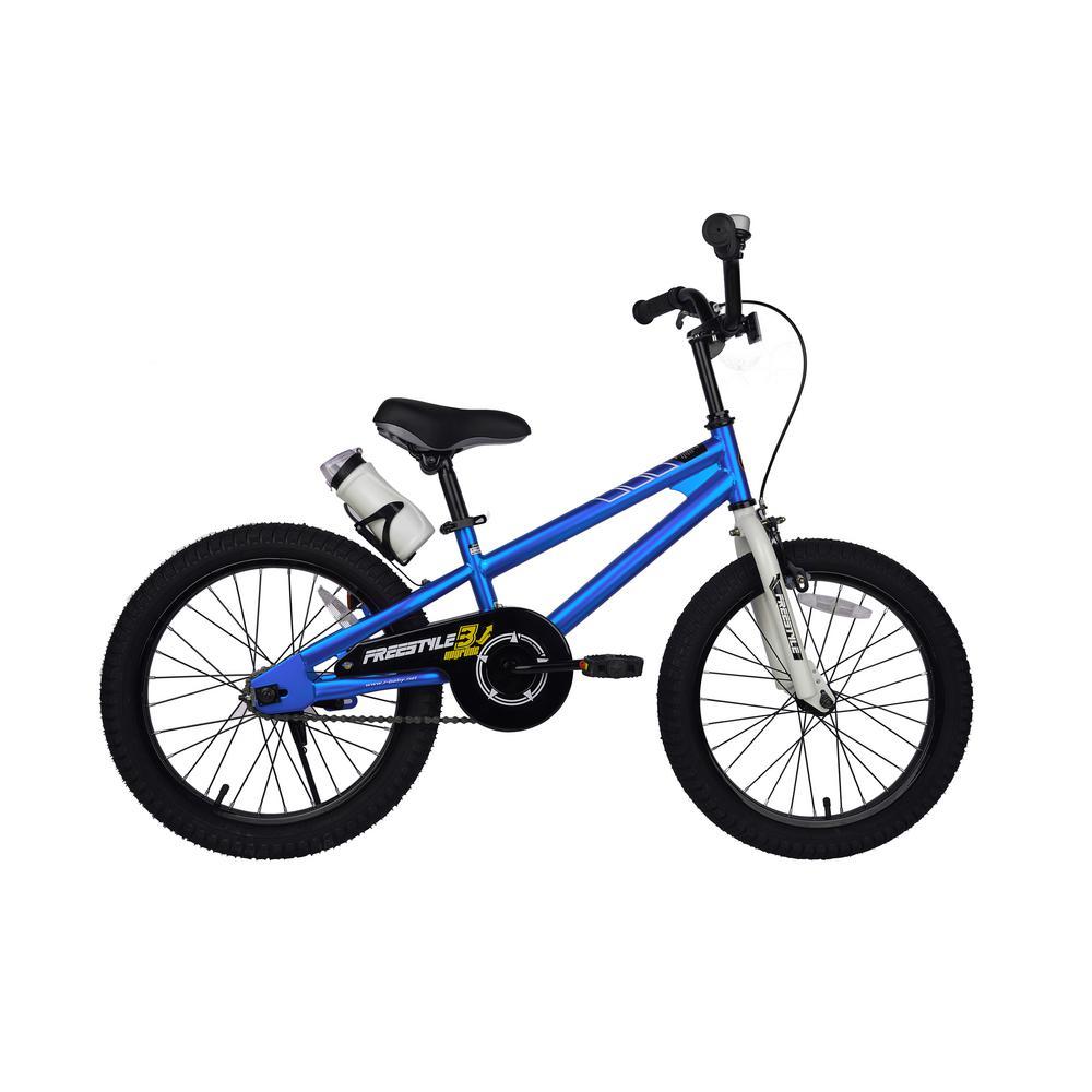 18 in. Wheels Freestyle BMX Kid's Bike, Boy's Bikes and Girl's Bikes in Blue