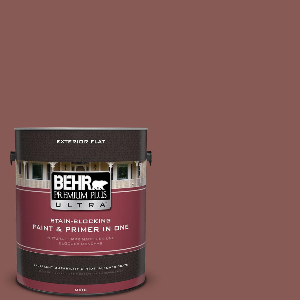 1-Gal. No.PPU1-9 Red Willow Flat Exterior Paint