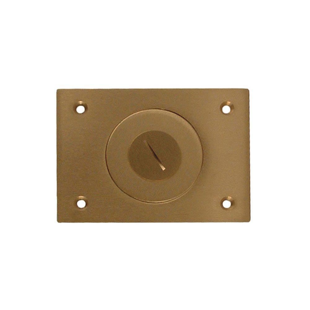 RACO 1-Gang Rectangular Floor Box Cover with Threaded Plug