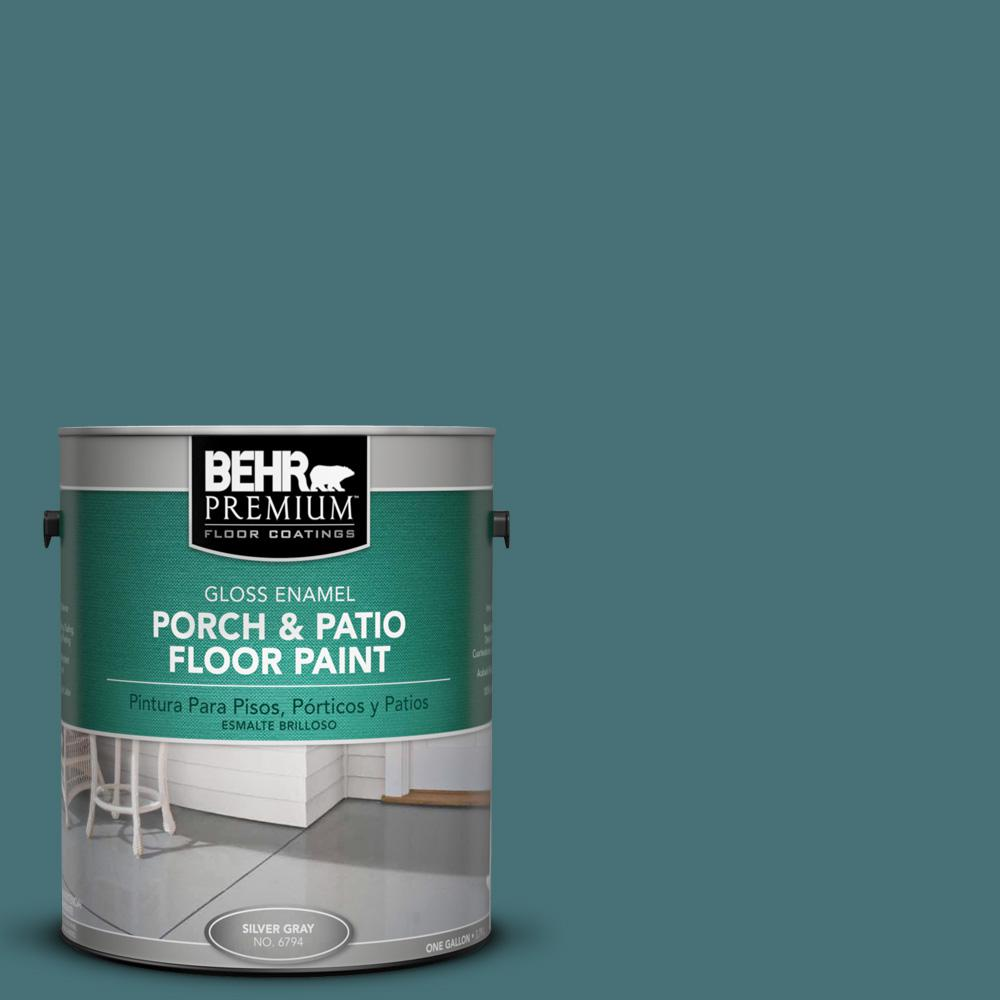 1 gal. #PPU13-2 Juniper Berries Gloss Porch and Patio Floor Paint