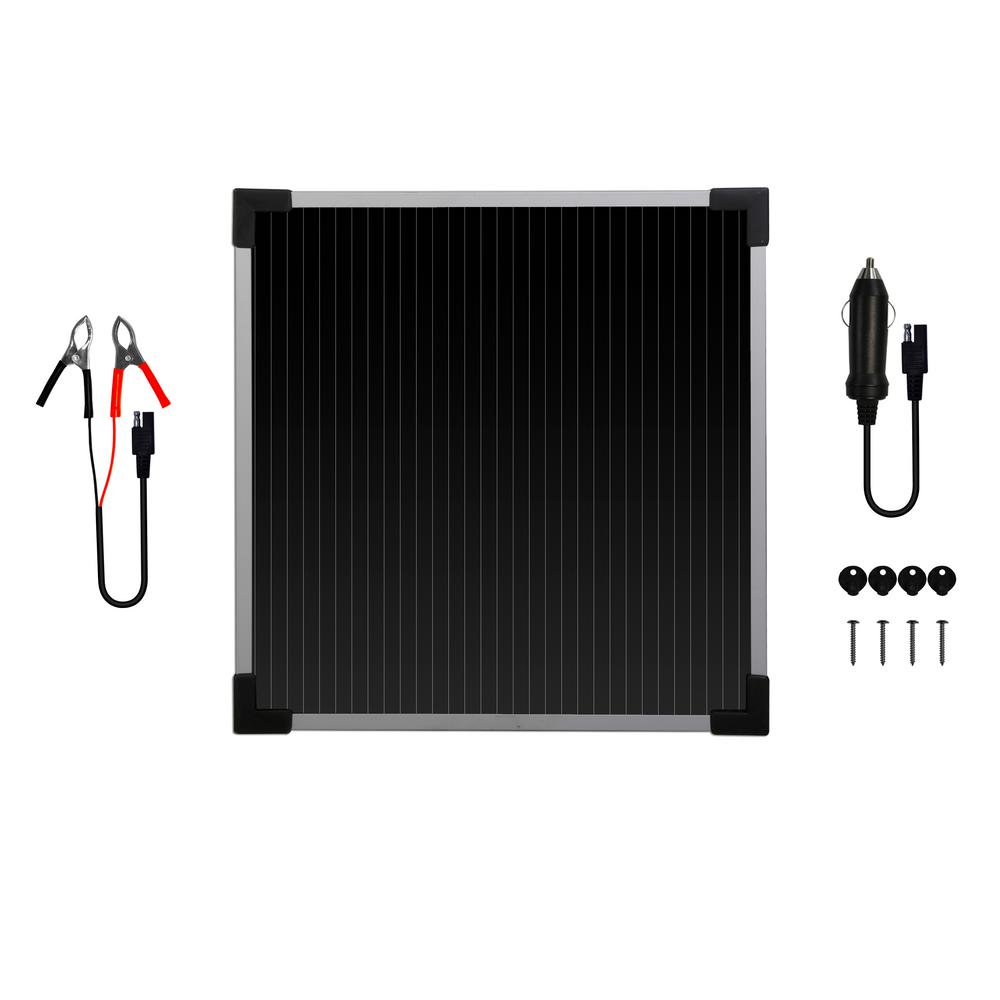 Sunforce 5-Watt Solar Battery Trickle Charger