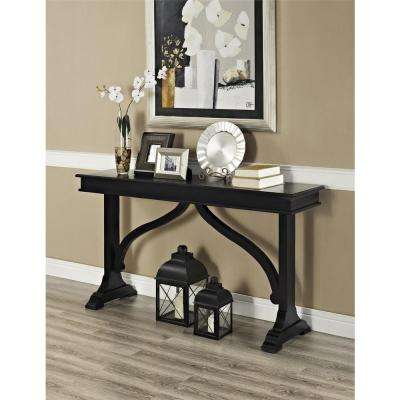 Winston Black Console Table