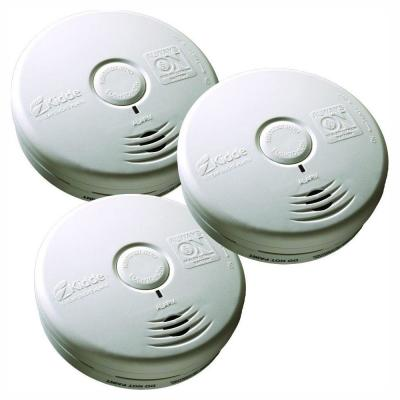 10-Year Worry Free Sealed Battery Smoke Detector with Photoelectric Sensor (3-Pack)