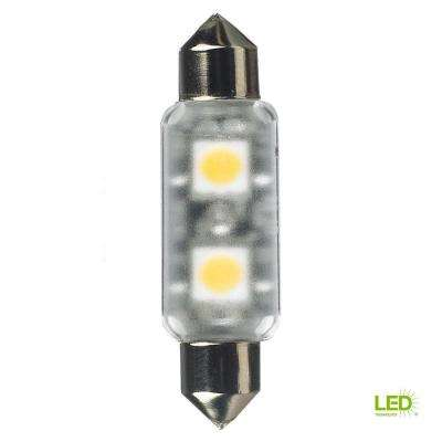 12-Volt LED Frosted Festoon Lamp (2700K)