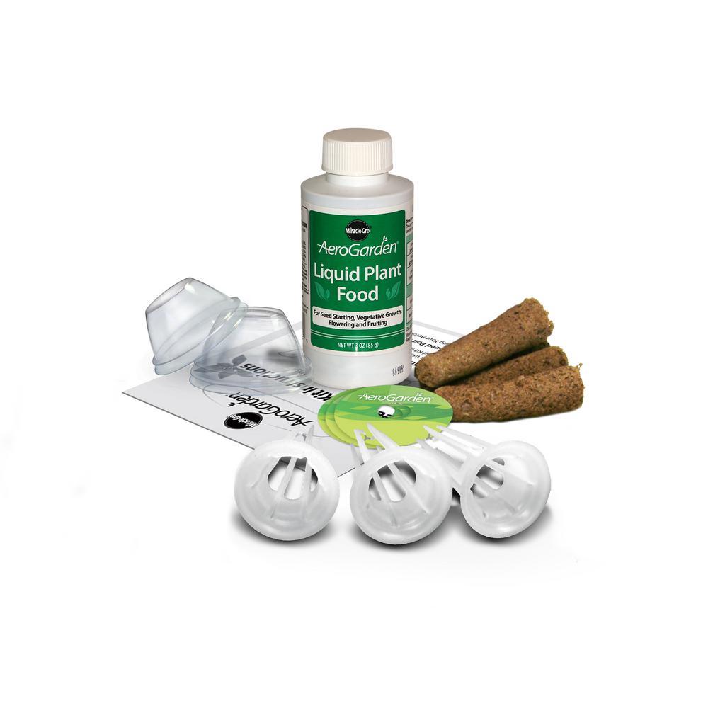 Aerogarden Pods Home Depot: AeroGarden Grow Anything Kit (3-Pod)-800357-0208