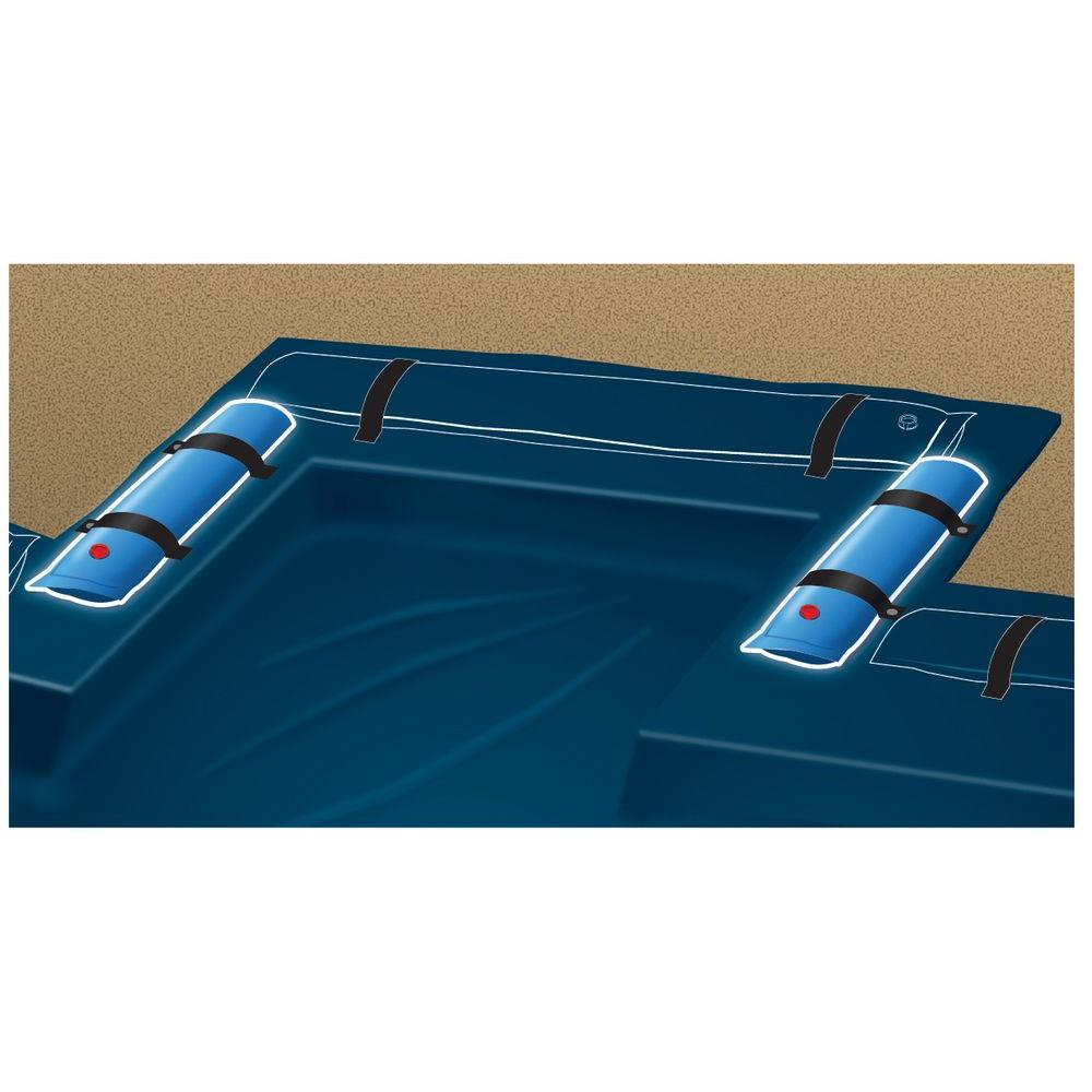 Blue Wave 4 ft. Universal Step Water Tube for Winter Pool Covers (2-Pack)