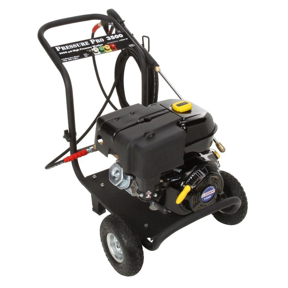 LIFAN Pro-Series 3500-PSI 4-GPM AR Triplex Pump Professional Gas Pressure Washer